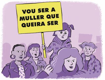8 DE MARZO, DÍA DA MULLER!